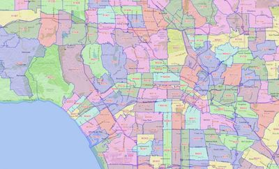 Homes for sale in Los Angeles by zip code