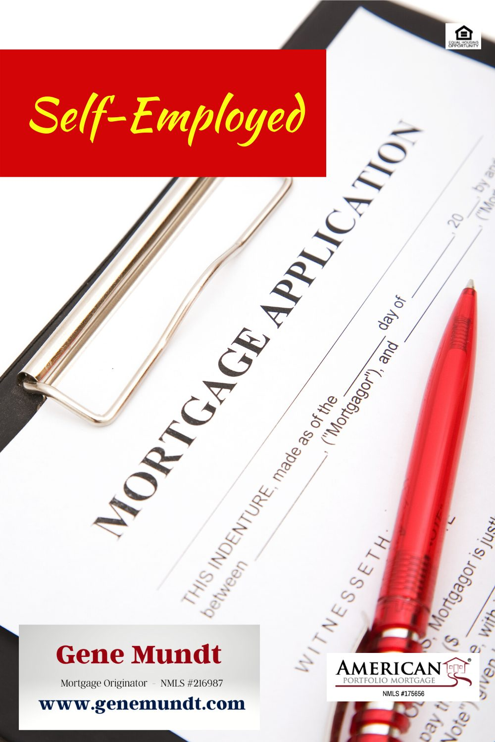 Applying for a mortgage while self-employed